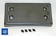 02-09 Chevy Trailblazer GMC Envoy Front Bumper License Plate Bracket NEW GM 014