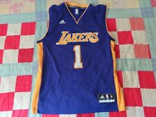 Adidas NBA Los Angeles Lakers D'Angelo Russell #1 pro cut Jersey Mens M
