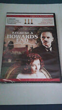 "DVD ""REGRESO A HOWARDS END"" PRECINTADA JAMES IVORY ANTHONY HOPKINS"