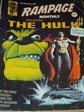 RAMPAGE Monthly Starring THE HULK Comic - No 5 - Date 11/1978 - UK Marvel Comic