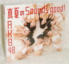 AKB48 Manatsu no Sounds good 2012 Taiwan CD+DVD (Type A)