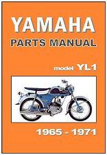 YAMAHA Parts Manual YL1 1965 1966 1967 1968 1969 1970 & 1971 Spares Catalog List