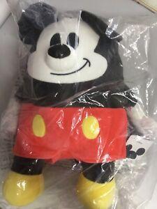 Disney Mocchi Mickey Mouse, Soft Plush Toys. 40cm. Tomy Australia made in China