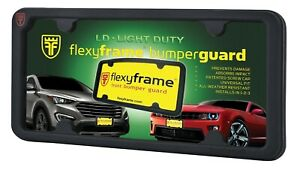 FlexyFrame Rubber Front License Plate Bracket Frame Guard for Chevrolet