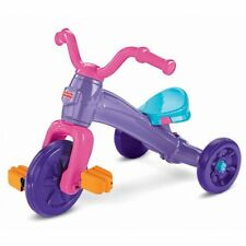 Fisher Price Deluxe Grow With Me Toddler Girls Adjustable Ride On Trike Tricycle
