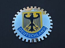 DEUTCHLAND EAGLE ( GERMANY) CAR GRILLE BADGE MERCEDES SEDAN BMW AUDI