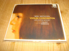 Isabelle Faust montagne beethoven violin concertos Harmonia Mundi CD signed signé