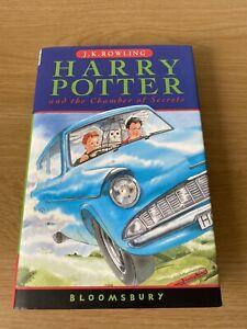 Harry Potter and The Chamber of Secrets 1st/26th Print Hardback J K Rowling