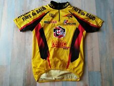 *MAILLOT  CYCLISTE SPEED LM ACPB  PAYS DE BAUD NETTO TAILLE S/2 TBE