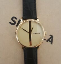 Shinola Gomelsky Watch With 32 mm Golden Face