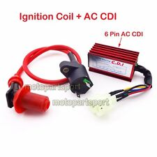 Scooter Moped Racing Ignition Coil AC CDI GY6 50 125cc 150cc Engine ATV Go Kart