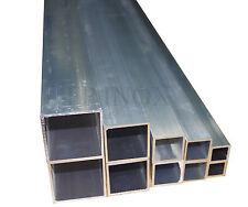 Tube Aluminium Carré 30mm  Epaisseur 2mm Longueur 0.98 mètre