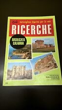 64 FIGURINE PER LE MIE RICERCHE - BASILICATA CALABRIA - ALBUM LABELS 1970