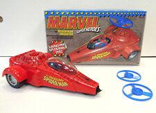 Marvel Superheroes: Spider-Man Dragster (1990) ToyBiz Loose Complete