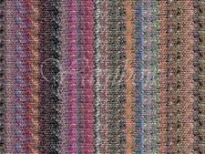 NORO ::Kibou #15:: cotton silk wool yarn 30% OFF! Orange-Greys-Browns-Sky