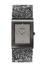 Sekonda Seksy Rocks mujer Swarovski set reloj Correa de cuero 2654