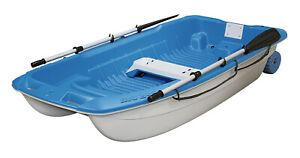 BIC TAHE Sportyak 245 Ruderboot Angelboot Dinghy Boot blau/weiß / Ruder / 2021