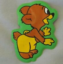 1978 Vintage Terrytoons TERRY BEAR 3'' Puff Cartoon Magnet