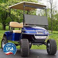 EZGO TXT (94.5-13) Tinted Fold Down Golf Cart Windshield - US Made