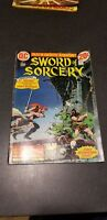 Vintage 1973 DC No. 1 Sword of Sorcery Comic Book First Issue