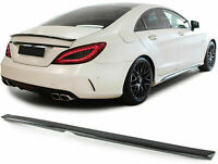carbon fiber Rear boot trunk spoiler lip FOR Mercedes CLS W218 from 2011