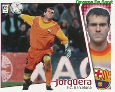JORQUERA ESPANA FC.BARCELONA CROMO STICKER LIGA ESTE 2005 PANINI