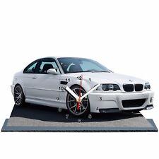 BMW M3 E46 -06, MINIATUR MODELLAUTOS in der Uhr