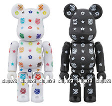 Medicom 100% Bearbrick ~ Sky Tree Multi Color Be@rbrick Gloss & Monogram Ver 2p