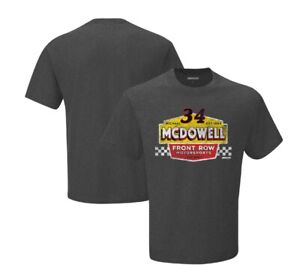 "2021 #34 Michael McDowell ""Checkered Flag Vintage Duel T-Shirt"" XL SD Shipping"