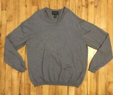 Pronto Uomo Cotton Cashmere Long Sleeve Pull Over Sweater XL