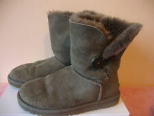 AUTHENTIC UGG GREY ANKLE BOOTS - SIZE 4