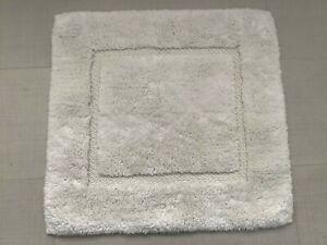 "Graccioza Egoist Bath Rugs - White (24"" x 24"")"