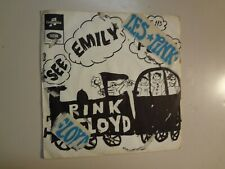 """PINK FLOYD: See Emily Play 2:55- Scarecrow 2:07-France 7"""" 67 Columbia CF 113 PSL"""