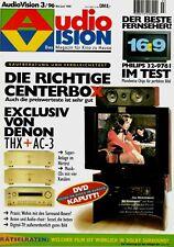 Film-Zeitschrift # Home Entertainment # AudioVision # Heft 03/1996 # Mai-Juni