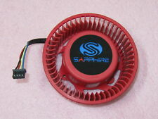 75mm Sapphire ATI HD6870 HD6950 HD6970 Fan Replacement 4Pin FD9238U12D 1.2A R43a