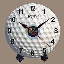 Personalizado Pelota De Golf De Cuarzo Cd Reloj actual Regalo Papá tío abuelo