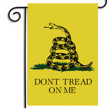 "USA ""DONT TREAD ON ME"" garden flag  Gadsden Flag 1pc"