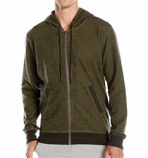 C-IN2 Mens Hoody Hooded Full Zip Cotton Sweatshirt Infantry Green Size XL