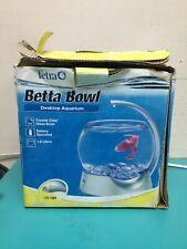Tetra Betta Bowl Desktop Aquarium 1.8L, Battery LED
