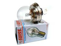 12V- 45 Asymmetric Headlamp Bulb #142301 For Royal Enfield