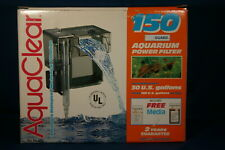New listing AquaClear 150 Power Filter for Aquarium / Fish Tanks up to 30 Gallons, 150 Gph