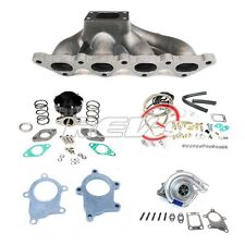 90-94 95-99 MITSUBISHI ECLIPSE TALON GST GSX 4G63 T3T4 TURBO CHARGER SET UP KIT