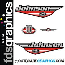 Motor Fuera De Borda Johnson 8hp calcomanías/Kit de la etiqueta engomada