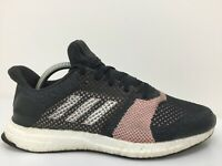 Adidas Ultra Boost Knit Mesh Gym Sports Running Trainers Black Mens Size UK 8