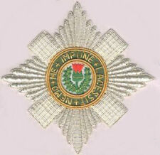 Medieval UK Britain Scotland Kingdom Royal Knight Order Thistle Star Badge Award