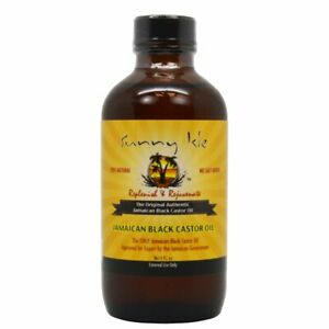 Sunny Isles  Jamaican Black Castor Oil 4 oz 100% Natural