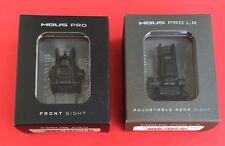 MAGPUL MBUS Pro Flip-Up FRONT & LR Adjustable REAR Sight STEEL- Black