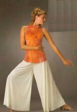 Catch The Wind Dance Costume Palazzo Pants and Tie Dye Top Clearance Adult Small