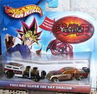 Hot Wheels Yu Gi Oh Yugi and Slifer the Sky Draon 1996 MIP