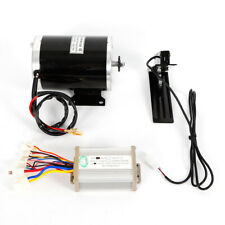 Dc Electric Kart Motor Kit W/ base+Speed Controller+Foot Pedal Throttle 1Kw 48V